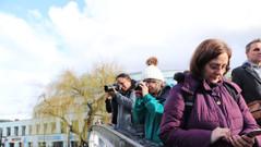 Geet, Ruth & Julie all enjoying Camden Lock