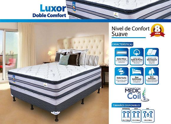 Set Luxor doble comfort