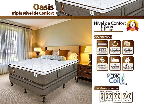 Set Oasis triple confort
