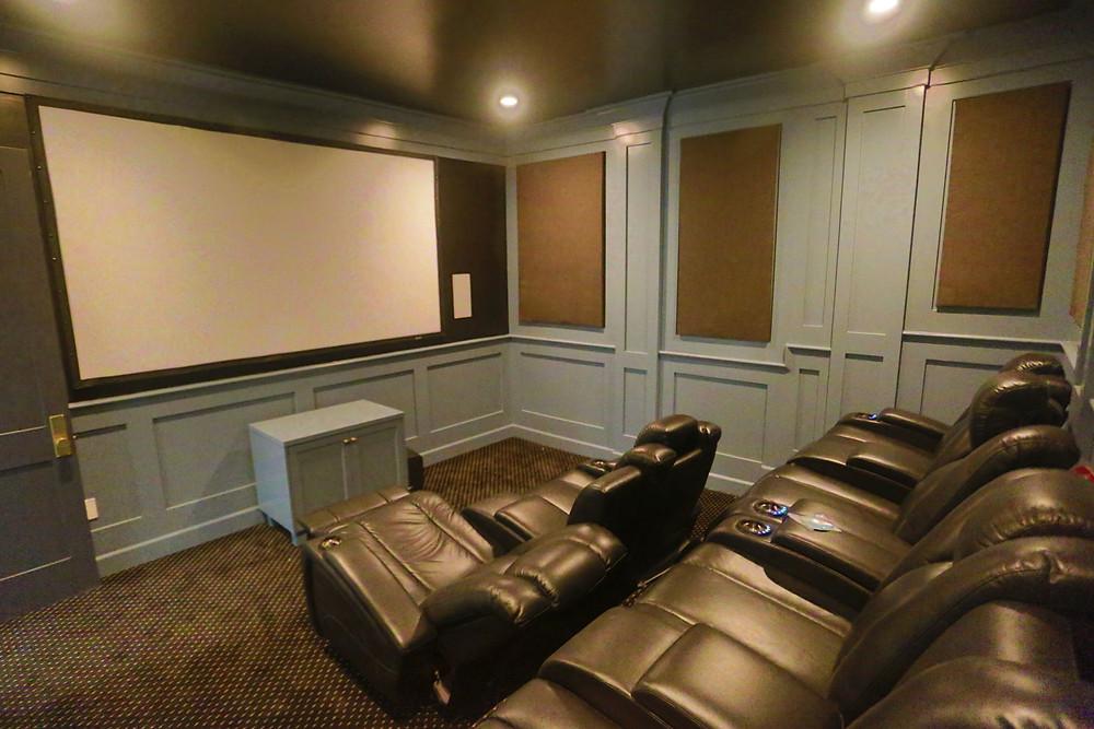 ADU theatre room
