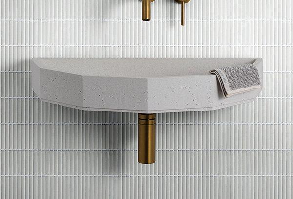Kitkat Pearl Grey Mosaic