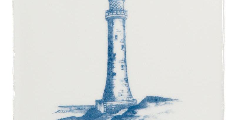 Lighthouse Blue on Papyrus
