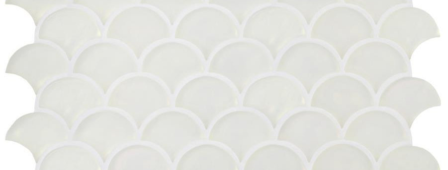 Pearl Scale Frosted White Frosted