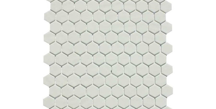 Hexagon Nature White