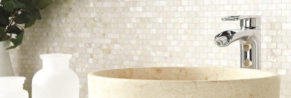 Pearl Brickbond Shell Mosaic