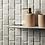 Thumbnail: Viano White Polished Brickbond Mosaic