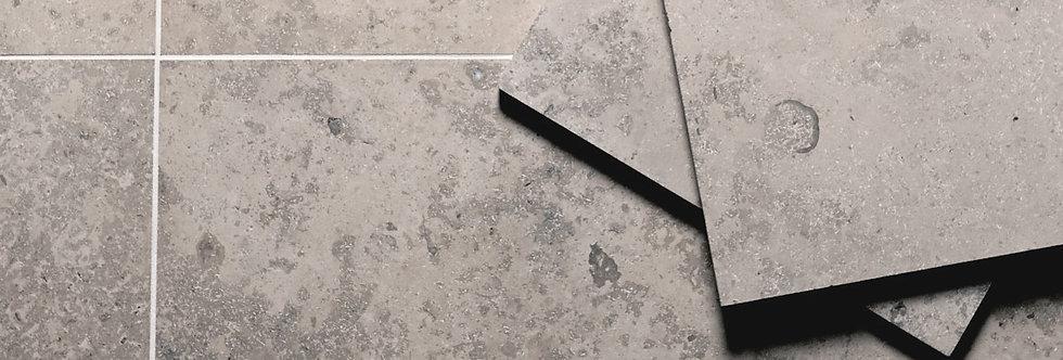 Jerusalem Grey Honed Limestone