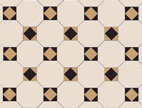 Arundel 3 Colour (White/Black/Old London)