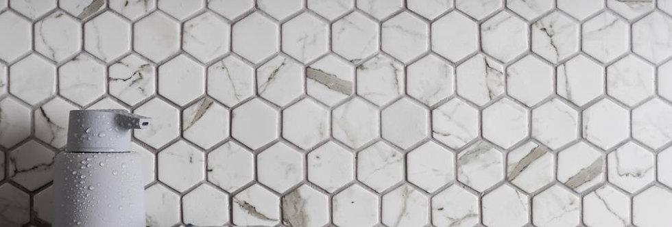 Torcello Glass Hexagon Mosaic