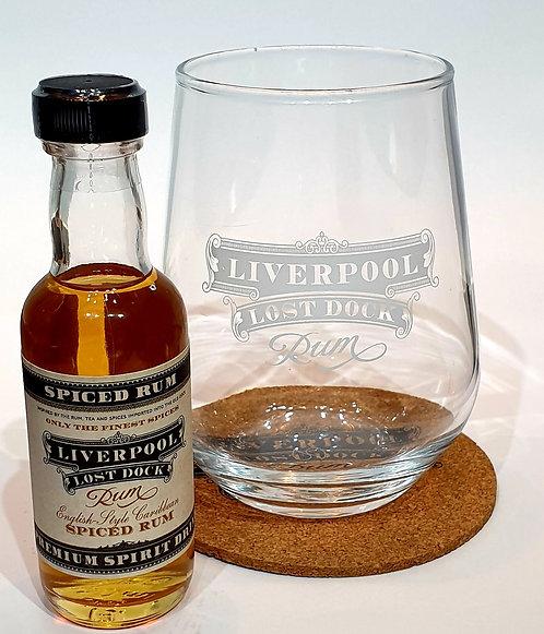 Liverpool Lost Dock Spiced Rum Miniature Bundle