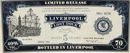 Liverpool Lost Dock 5 Year Old Rum