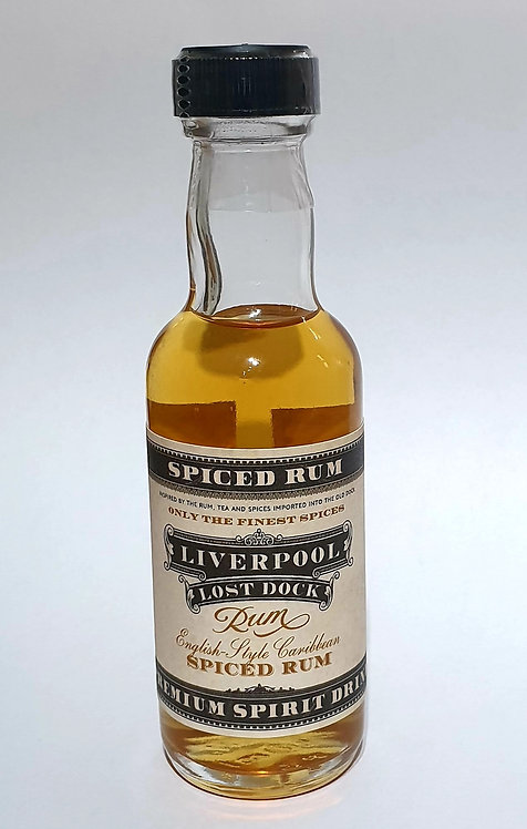 Liverpool Lost Dock Spiced Rum Miniature