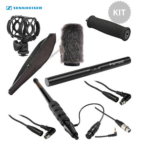 Sennheiser MKE-600 Shotgun Mic Kit