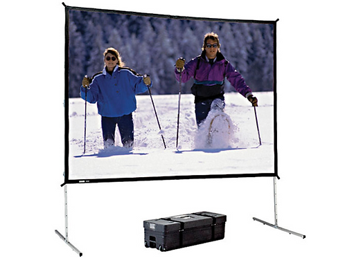 Da-Lite 39310 Fast-Fold Deluxe Portable Giant Projection Screen (8' x 14')