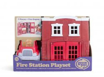 GREEN TOYS Caserne pompiers1156