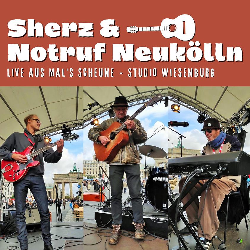 Live-Konzert-Stream: Sherz & Notruf Neukölln