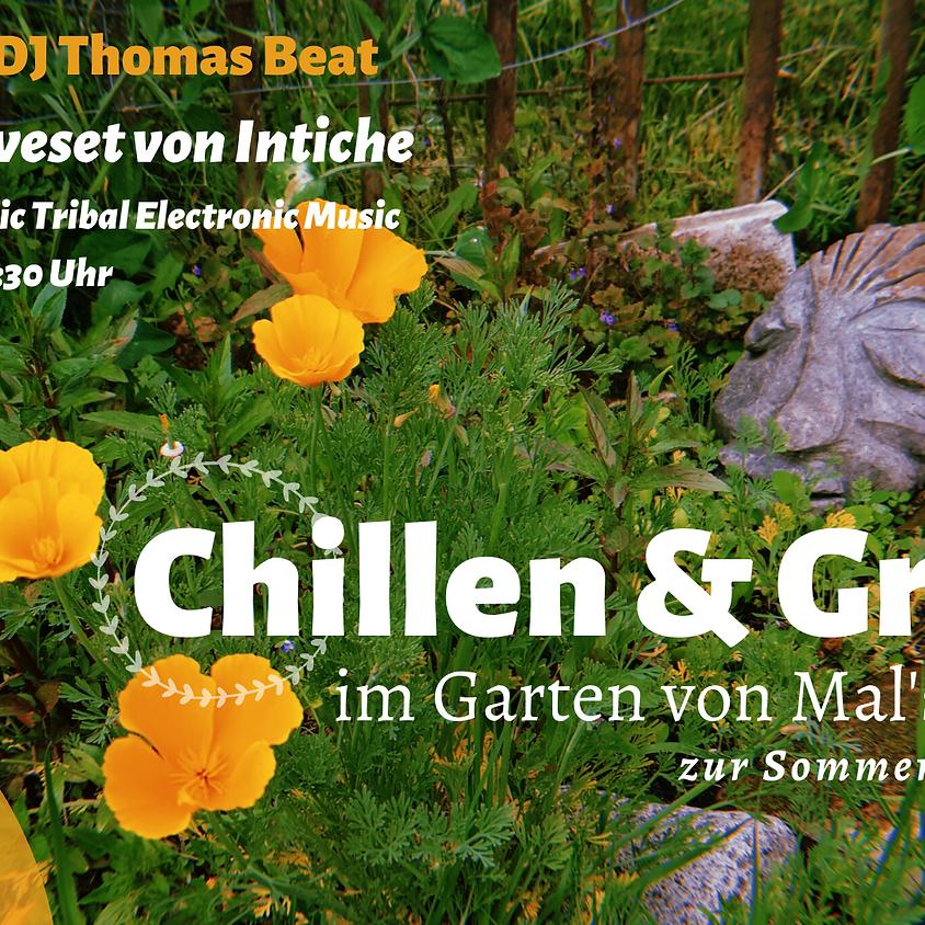 Chillen & Grillen im Garten mit DJ Thomas Beat & Intiche