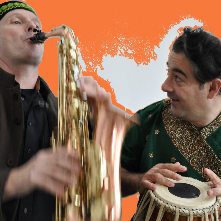 Live-Gartenkonzert: Joachim Gies und Ravi Srinivasan