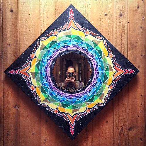 "Inner Reflection 30x30"" Original Painting"