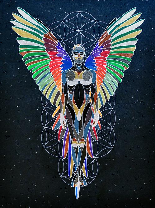 "Dream Angel - 18x24"" canvas print"