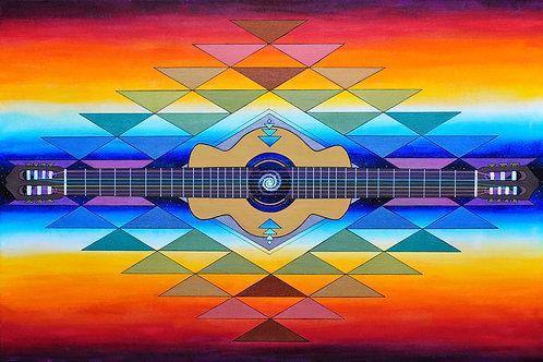 "Harmonia - 24x36"" canvas print"