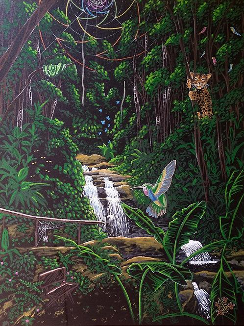 "Enchanted Ciranda 20x16"" canvas print"