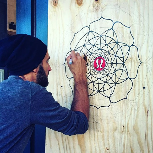 lululemon athletics mandala