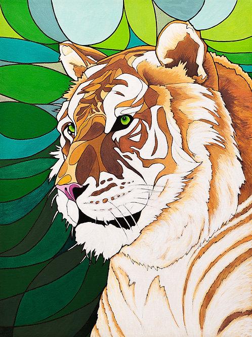 """Jivatma -8x11"""" canvas print"""