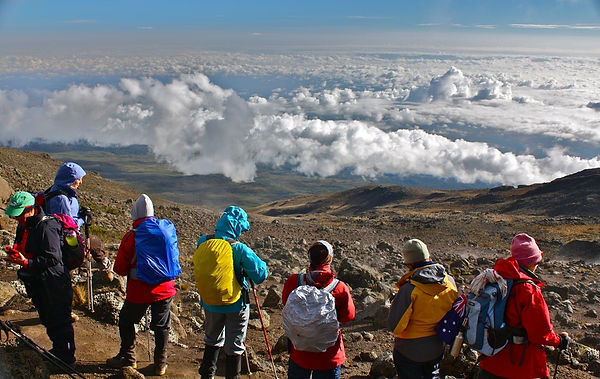 Climbing-Kilimanjaro-via-the-Rongai-rout