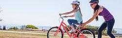 Radfahren lernt man auf dem Farrad