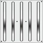 Металлическая тактильная плитка