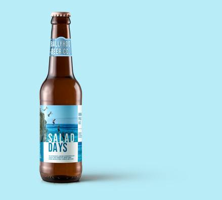 Salad Days Beer Label