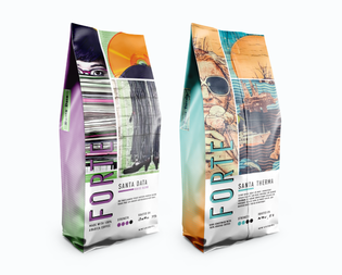 Forte - Fictional Coffee Packaging