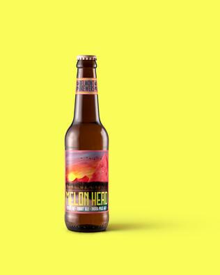 Melon Head - Fictional Beer Label