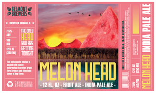 Melon Head - Fictional Beer Label