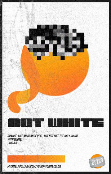 NOT WHITE