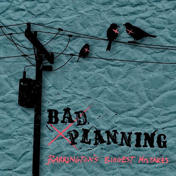 Barrington's Biggest Mistakes EP Cover.j