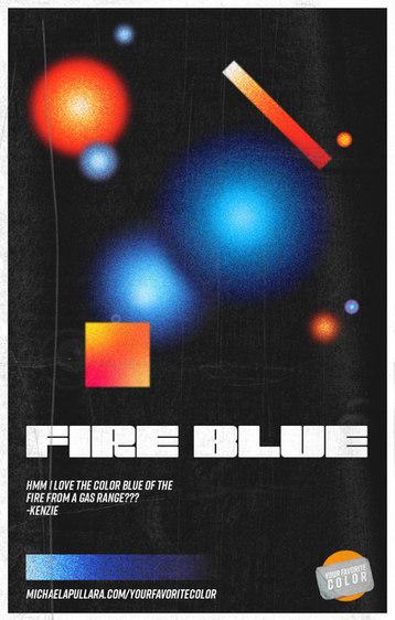 FIRE BLUE