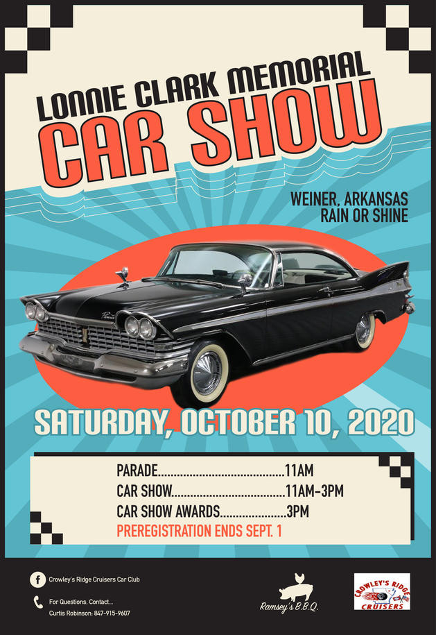 Car Show Promotional Poster