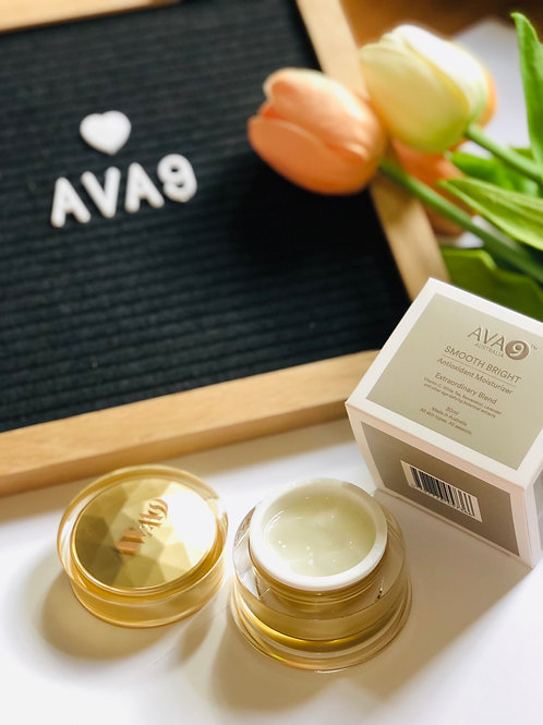 AVA9 Smooth Bright Antioxidant Moisturizer