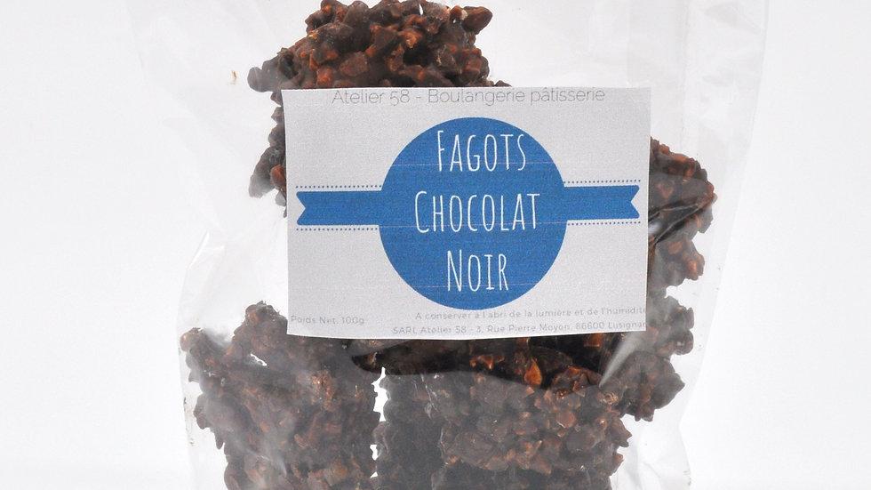 Fagots au Chocolat Noir