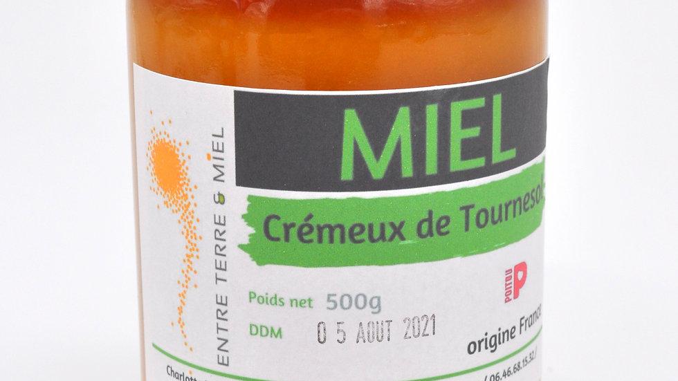 Miel Crémeux de Tournesol