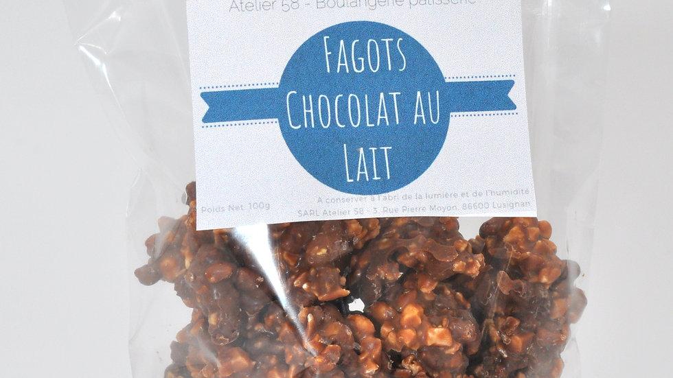 Fagots au Chocolat au Lait