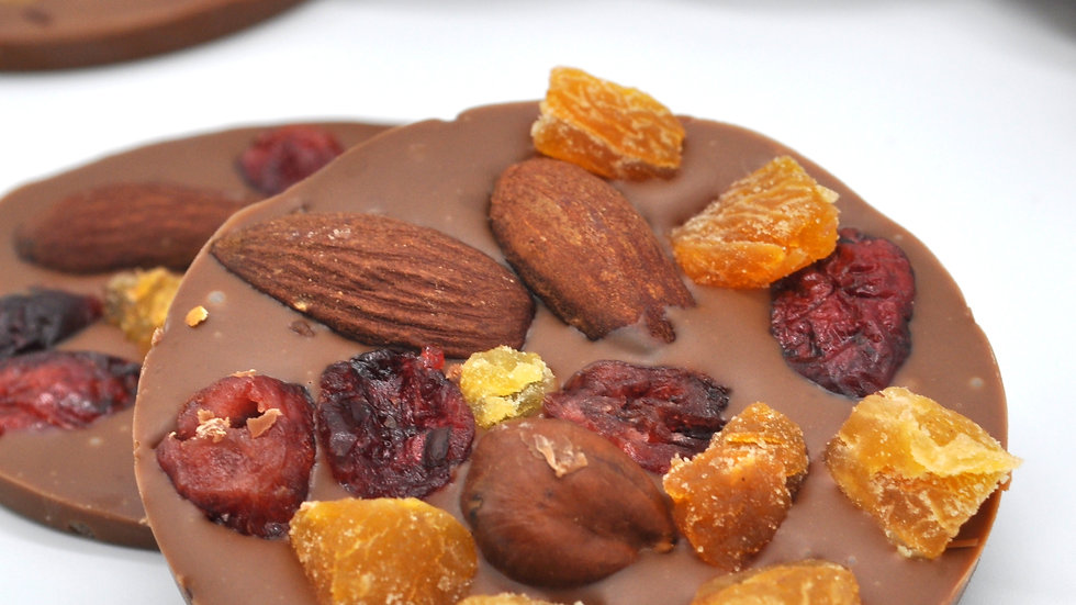 Mendiants Chocolat au Lait