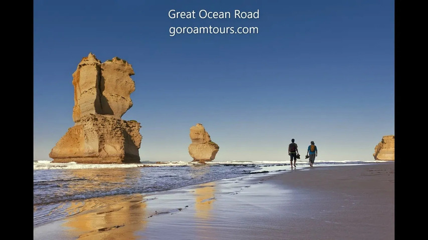 Gog and Magog on the Great Ocean Road Tour from Geelong.