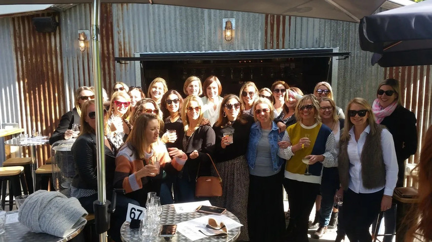 Gin Tasting @ The Whiskery on a Bellarine wine and food tour from Geelong and Torquay.