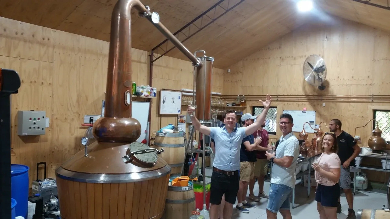 Where the magic happens @ The Whiskery on the Bellarine Gin Tour from Geelong.