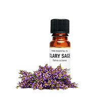 CLARY SAGE ESSENTIAL OIL (Anti-Cellulite, Hair Growth & Calming)