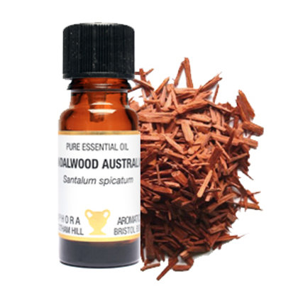 SANDALWOOD AUSTRALIAN ESSENTIAL OIL (Relaxing & Good for oiy skin)