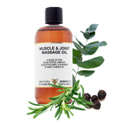 MUSCLE AND JOINT MASSAGE OIL (Relieves Arthritis and Muscle Pain)